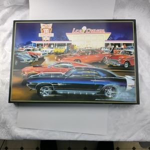 """Car Lovers Wall Hanging 22""""x15"""""""